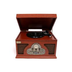 Музыкальный центр-ретро BRIGANT с пультом: AM/FM, CD, MP3, USB, SD, Bluetooth, винил (уп.1/1шт.)
