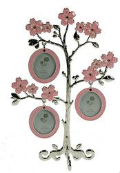 Фоторамка-дерево на 3 фото 16*8*23см (уп.1/12шт.)