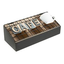 """Шкатулка для хранения """"Кофе"""" 24*10*10см (уп.1/48шт.)"""
