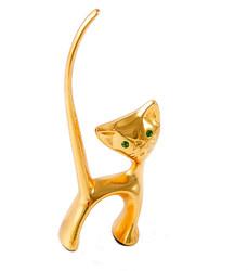 "Подставка для колец ""Кошка"" 8см (уп.1/96шт.)"