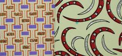 """Бумага упаковочная МИКС """"Handmade""""  БЕЖЕВЫЙ/НАТУРАЛЬНЫЙ 100*70см (уп.10/200л.)"""