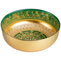 ЧАША «JASMIN» GREEN 17 CM БЕЗ УПАКОВКИ (МАЛ 8ШТ)