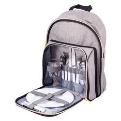 Набор для пикника на 2 персоны в рюкзаке 29*9*37см (уп.1/6наб.)