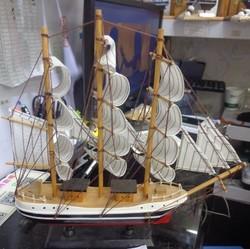 Модель корабля 32*31см (уп.1/24шт.)