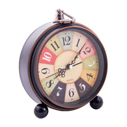 Часы-будильник 13см (уп.1/60шт.)