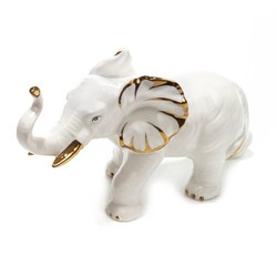 Фигурка декоративная Слон 15 см (уп.1/36шт.)