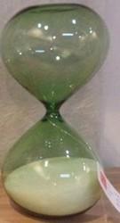 Часы песочные на 30 мин. 18см (уп.1/24шт.)