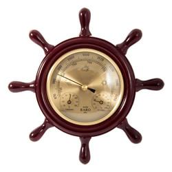 "Метеостанция ""Штурвал"": барометр, термометр, гигрометр d=22см (уп.1/10шт.)"