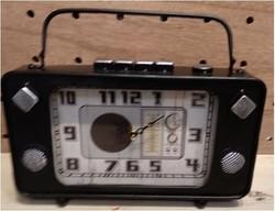 """Часы настольные """"Ретро радио"""" 25*16*27см (уп.1/12шт.)"""