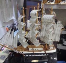 Модель корабля 32*32см (уп.1/24шт.)