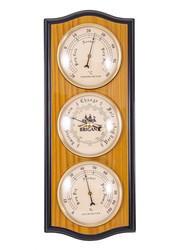 "Метеостанция настенная ""BRIGANT"": барометр, термометр, гигрометр 30см (уп.1/10шт.)"