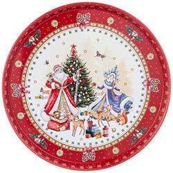 """ПОДНОС СЕРВИРОВОЧНЫЙ AGNESS """"CHRISTMAS COLLECTION"""" 33*2,1 СМ"""