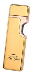 """Зажигалка """"LA GEER"""" 6*4см электронная USB сенсорная (уп.1/100шт.)"""