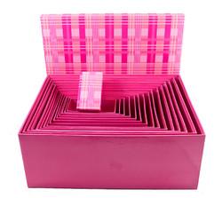 "Комплект коробок из 16шт. ""Клетка"" (прямоуг.) 42*34*17см (уп.1/2комп.)"