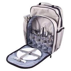 Набор для пикника на 4 персоны в рюкзаке 36*21*42 (уп.1/6наб.)