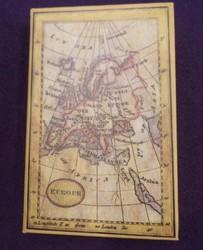 """Шкатулка-фолиант-фолиант """"Карта"""" 21*14*3см (уп.1/36шт.)"""
