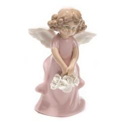 Фигурка декоративная Ангел 8*6*14см (уп.1/48шт.) без выбора цвета микс