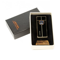Зажигалка электронная USB (уп.1/150 шт.)