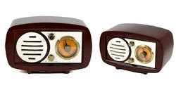Музыкальный центр-ретро: AM/FM, Bluetooth, 28*16*14см (уп.1/4шт.)