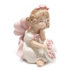 Фигурка декоративная Ангел 7*7*10см (уп.1/72шт.) без выбора цвета микс