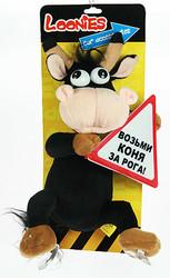 """Сувенир для автомобиля """"Забавная корова"""" (уп.1/24шт.)"""