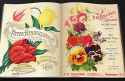 """Набор шкатулок-фолиантов """"Летние цветы"""" из 2-х шт. 22*16*7см (уп.1/12наб.)"""