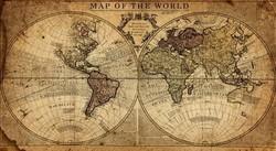 """Ключница """"Карта"""" 18*6*25см  (уп.1/12шт.)"""