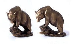"Фигура декоративная ""Медведь"" 18*8*18см (уп.1/12шт.)"