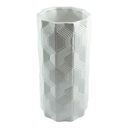 Ваза декоративная, керамика 12*12*25см (уп.2/12шт.)