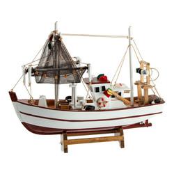 """Модель корабля """"Рыбацкое судно"""" 30*9*27см (уп.1/12шт)"""