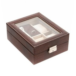 Шкатулка для хранения часов и ювелирных украшений  CALVANI 20*16*8см (уп.1/24шт.)