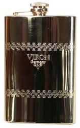 """Фляжка подарочная """"VIRON"""" 260мл (уп.1/100шт.)"""