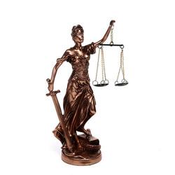 Статуэтка Греческая богиня правосудия - Фемида 21см (уп.1/16шт.)