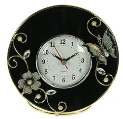 """Часы """"Бархатная ночь"""" 13*5*12см (уп.1/24шт.)"""