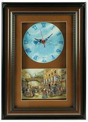 Часы-коллаж 3D 42*30см (уп.1/10шт.)