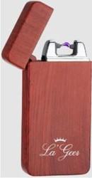 """Зажигалка """"LA GEER"""" 7*4см электроимпульсная USB (уп.1/100шт.)"""