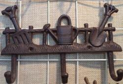 Ключница-вешалка 25*4*16см (уп.4/16шт.)