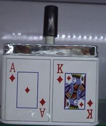 """Пепельница """"Карты"""" 9*9см (уп.1/125шт.)"""