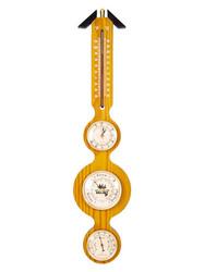 "Метеостанция настенная ""BRIGANT"": барометр, термометр, гигрометр 57см (уп.1/10шт.)"
